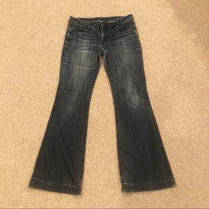 Express Flare Bellbottom Jeans